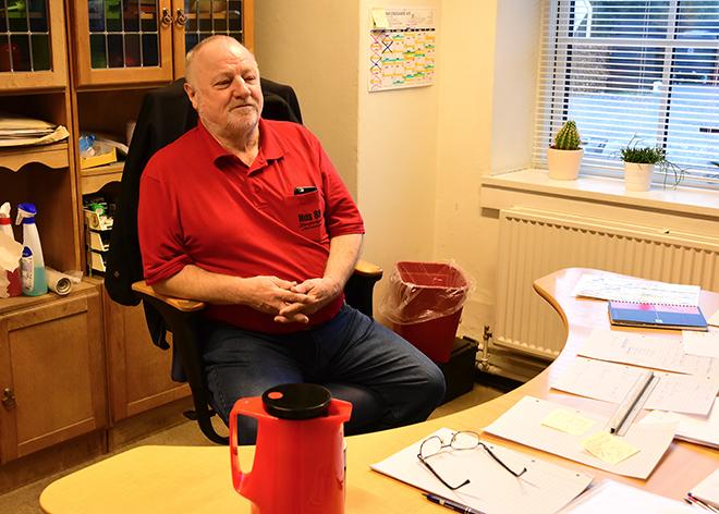 Daglig leder af Hus 88 Hans Breith